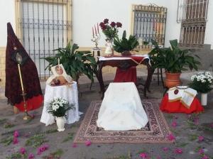 Altar para el Corpus 2013