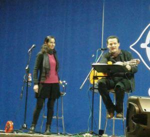 Carmen Sara y Luis Guitarra