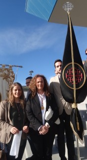 representación Cofradía Peregrinación Jubilar Febrero 20162