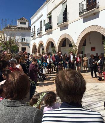 Domingo de Ramos 2017 Dalías Plaza S. Juan Pablo II blog